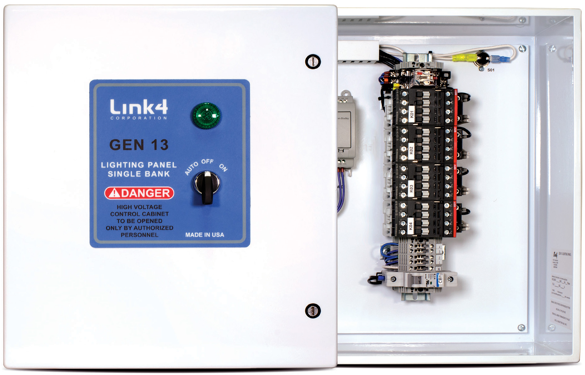 Link4 Gen 13 and 14 Lighting Panel