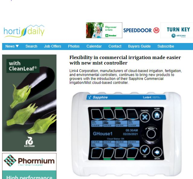 Link4 Featured in HortiDaily