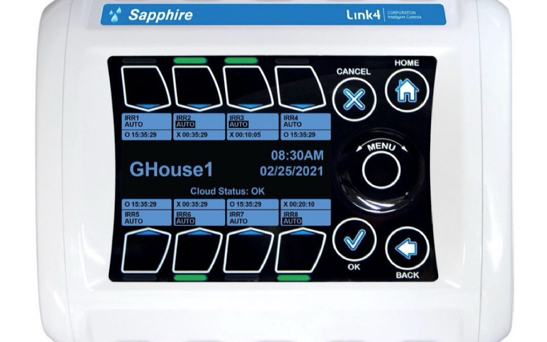 Flexibility in Commercial Irrigation Made Easier with the New Sapphire Mist Controller from Link4